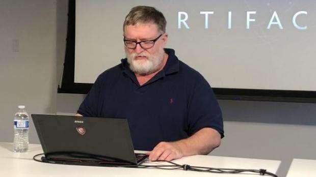 Valve Gabe Newell