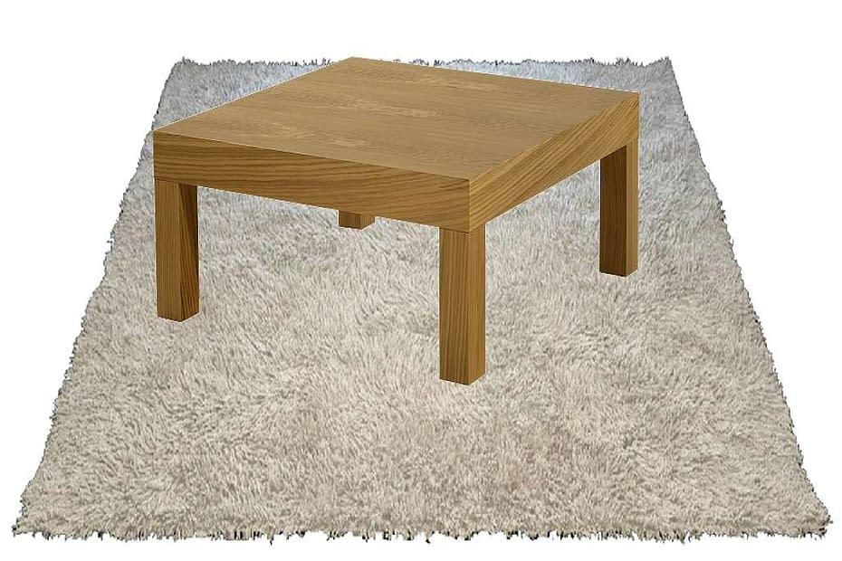 segni dei mobili sui tappeti