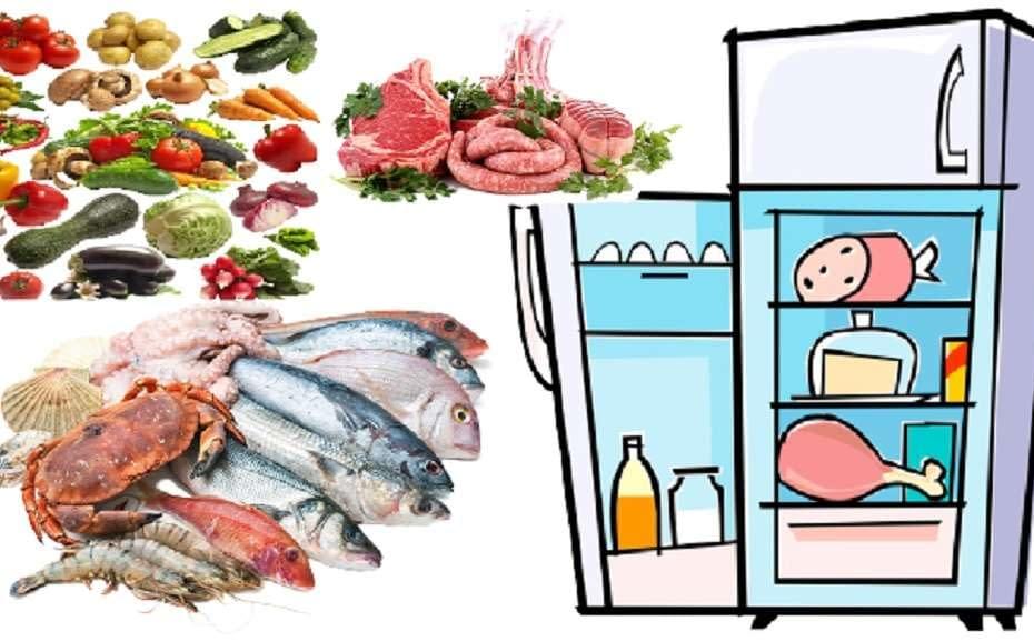 organizzare frigorifero
