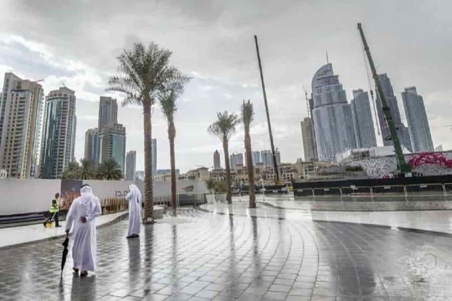 Emirati Arabi Piogge artificiali