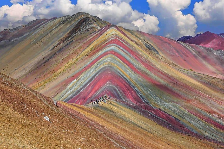 Vinicunca montagna arcobaleno