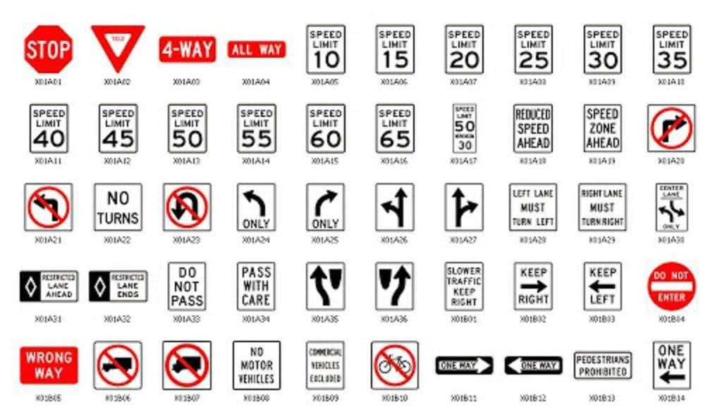 viaggio USA segnali stradali
