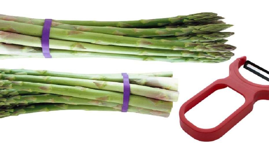 come pulire asparagi