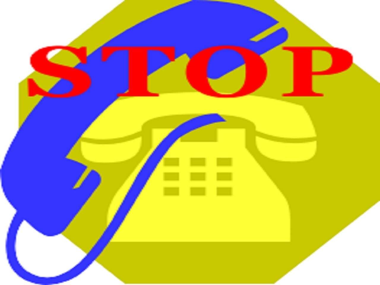Stop telefonate